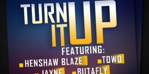 Sean Martin Luther Tha P and RichB3atz - Turn It Up cover