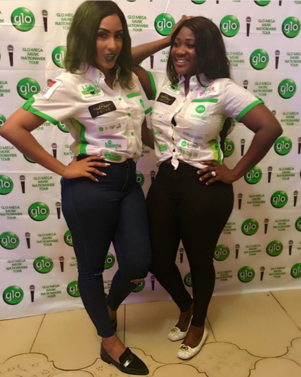 Juliet Ibrahim & Mercy Johnson
