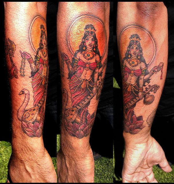 972791c05 Desi Ink: the Goddess Saraswati – Mr. Sid's Lounge
