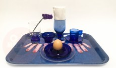 BLUE SURREAL BREAKFAST TRAY €95