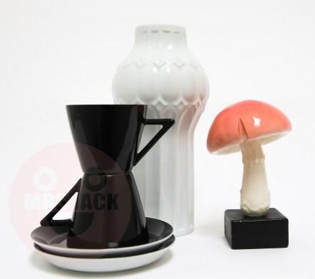 BLACK & WHITE COFFEE SET