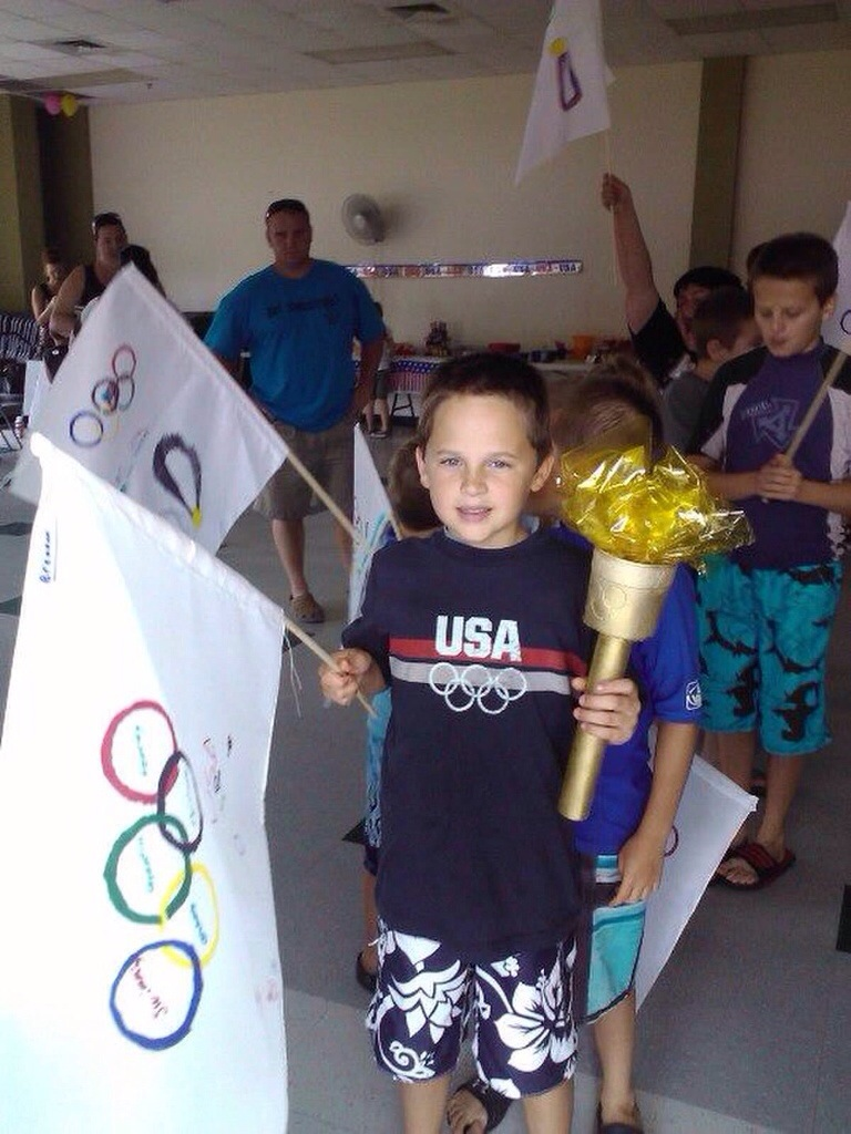 Olympic Themed Birthday Party Adventures With Jen Cook