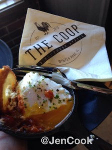 Poached Eggs & Grits from The Coop.