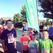 The Northbrook 5K on Fourth of July.