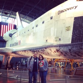 Space Shuttle Discovery at the Air & Space Museum