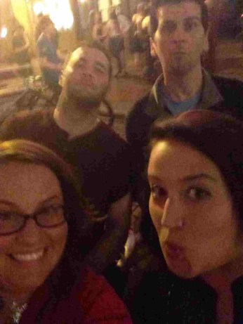 Crazy night fun in a downton Orlando pedicab.