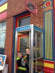Visiting Superman in Metropolis, Illinois
