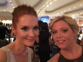Darby Stanchfield at the WHCD