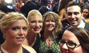 Red carpet selfie!