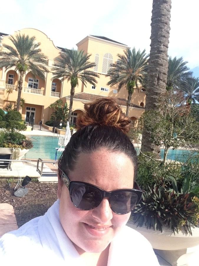 Ritz-Carlton Spa in Orlando.