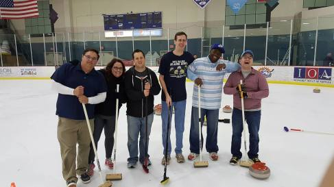 Orlando Curling Club's Learn To Curl Night.