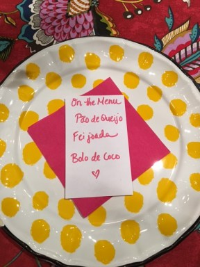 plate w menu