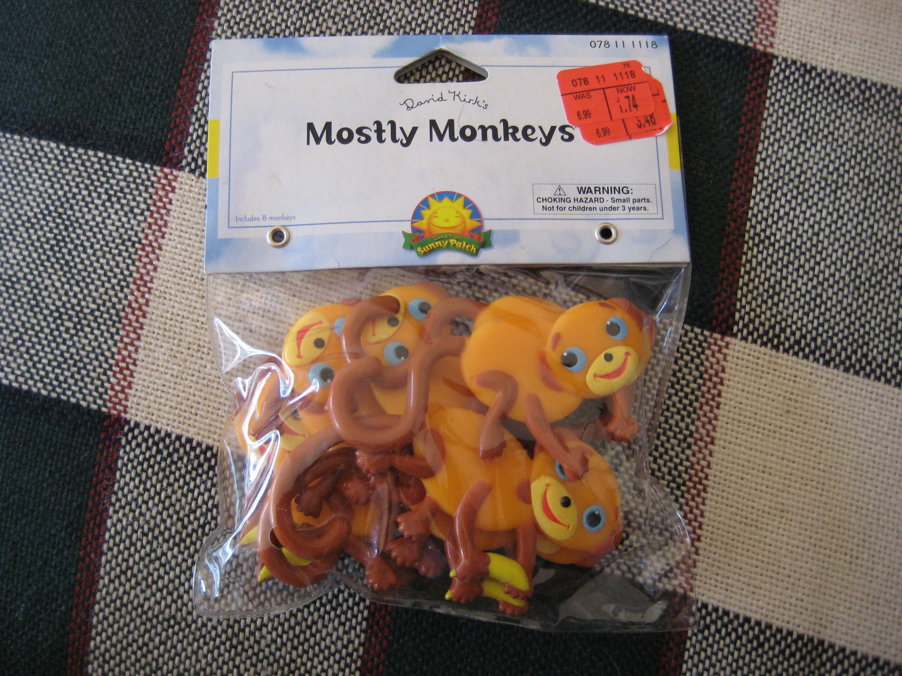Monkey Mayhem Mrs Kilburn S Kiddos