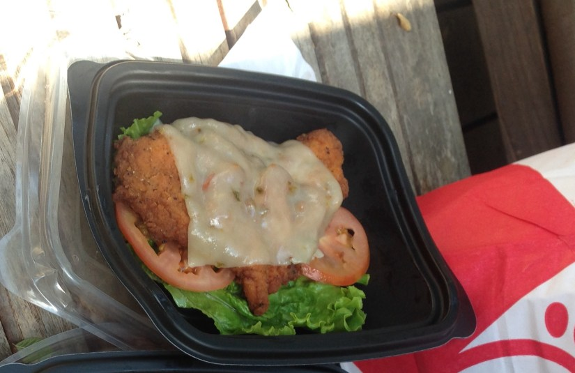 Low Carb Chick-Fil-A Spicy Chicken Deluxe