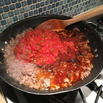 Keto Chili In Progress