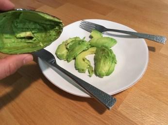 Keto Avocado Sliced
