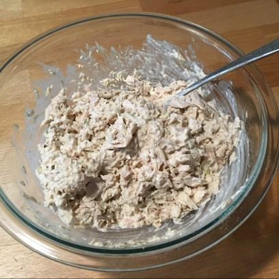 Keto Tuna Salad Mixed
