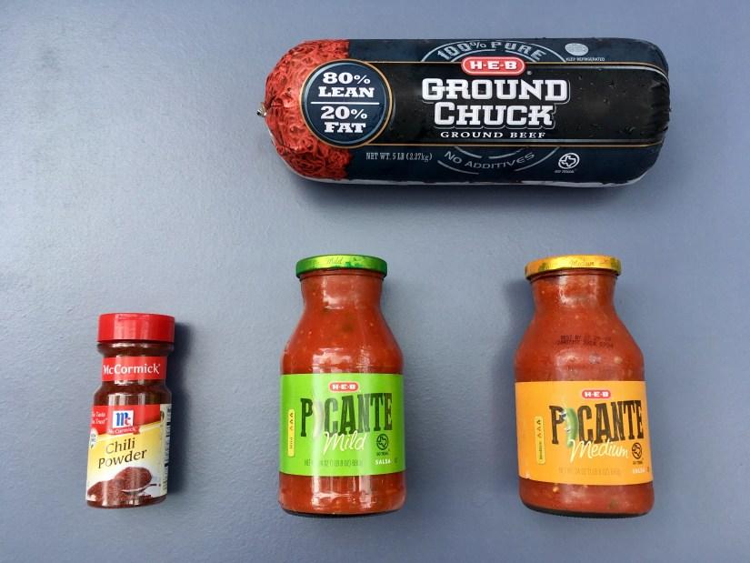 Keto Chili Ingredients