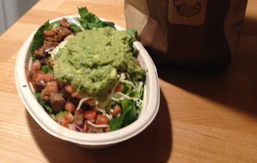 Low Carb Chipotle Steak Salad