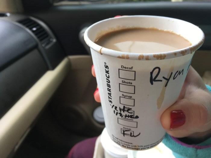Low Carb Starbucks Drinks - Flaches Weiß