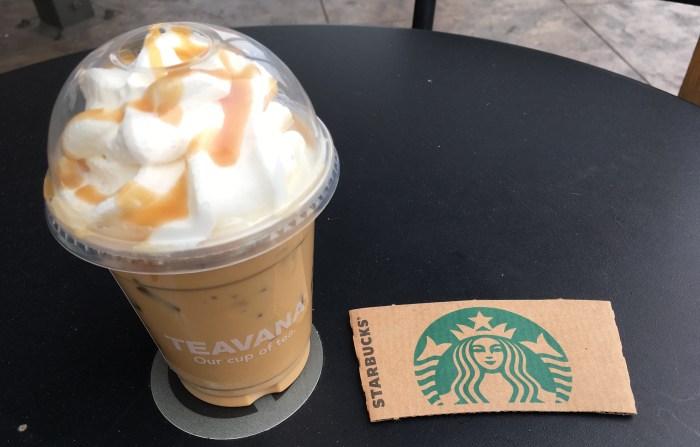 Low Carb Starbucks Iced Caramel Macchiato