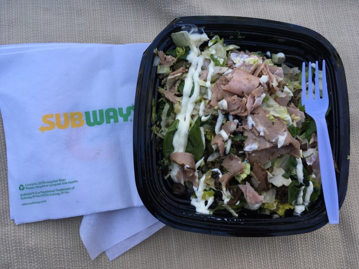 Low Carb Subway Club Salad