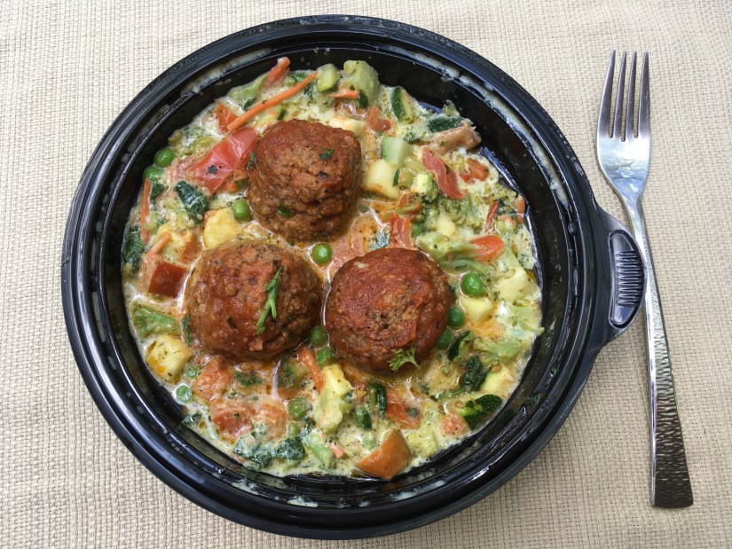 Low Carb Olive Garden Meatballs and Veggies