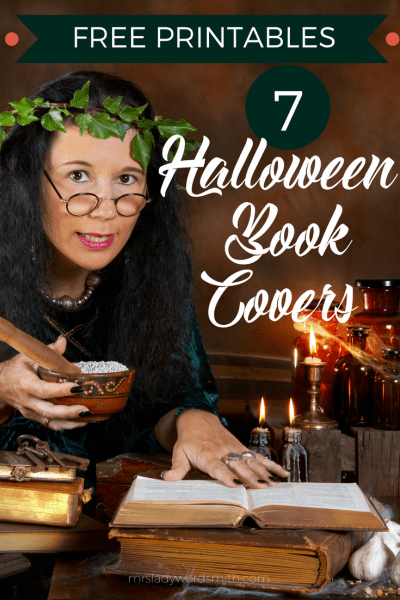 7 Halloween Book Covers That Are Free Printables