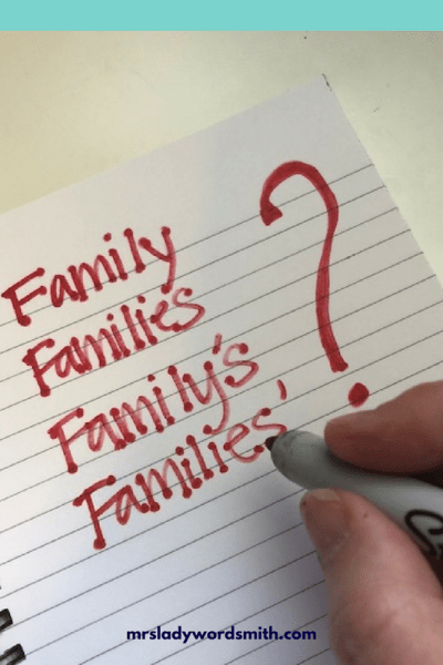 Families or Family's? Which Is Correct?