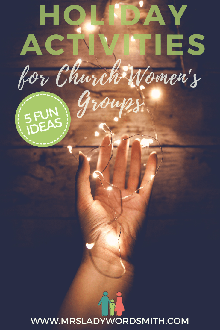 Looking for holiday activities for your church women's group? Look no more. Celebrate with these affordable, meaningful ideas that accommodate groups of all sizes. #christmas #holidays #women #activities #church #lds #mormon #reliefsociety #christian #nondenominational #service