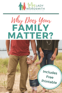 Do you want to help your family draw closer to Jesus Christ and be together forever? It all starts by learning about Him--together. #family #families #freeprintable #printable #jesuschrist #jesus #christ