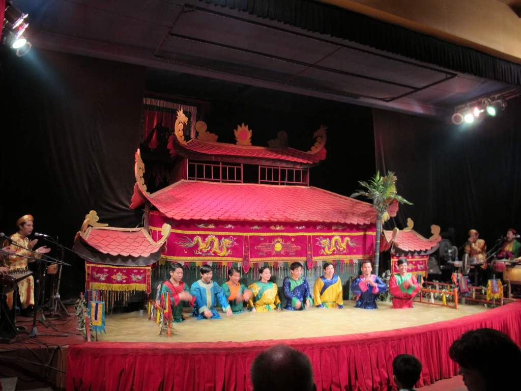胡志明市景點-金龍水上木偶戲