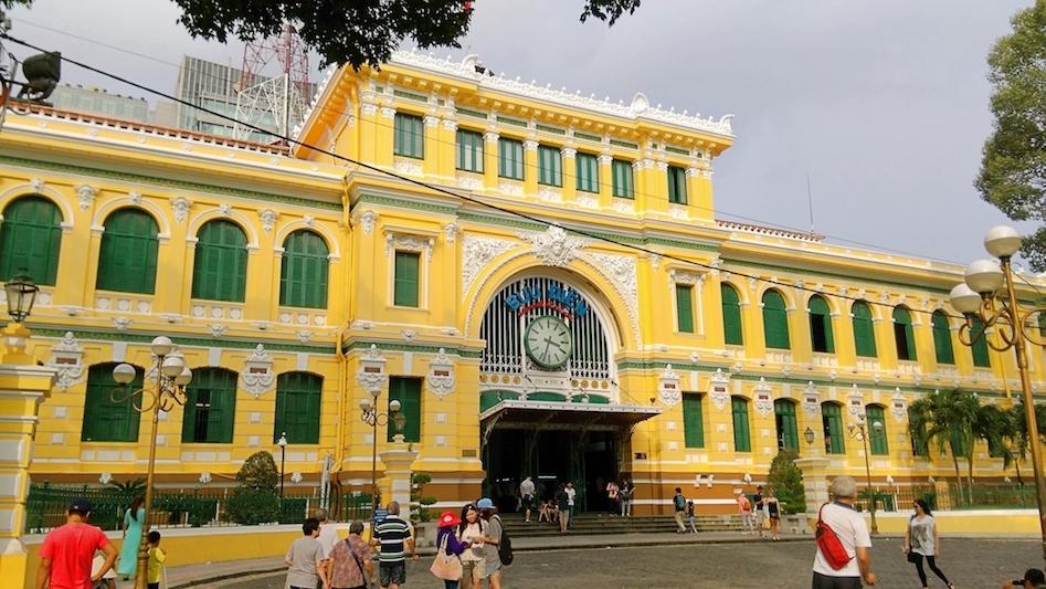 胡志明市景點-郵局