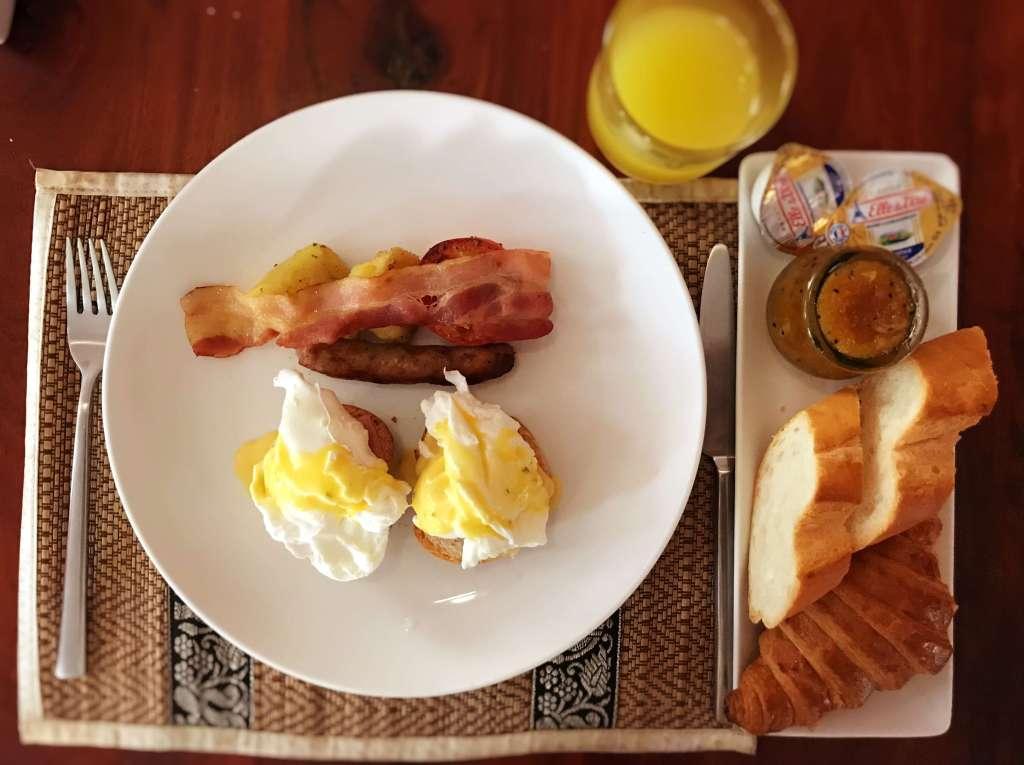 吳哥窟住宿 Charming Angkor Residence (Chez moi) 內用早餐