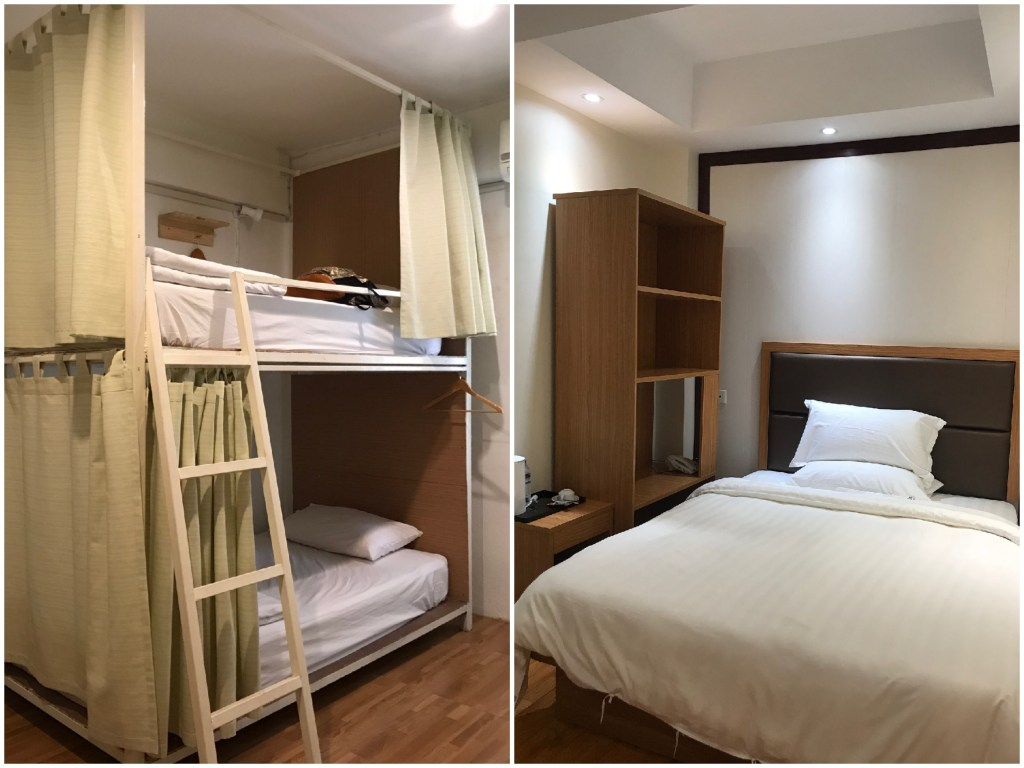 hostel and private room