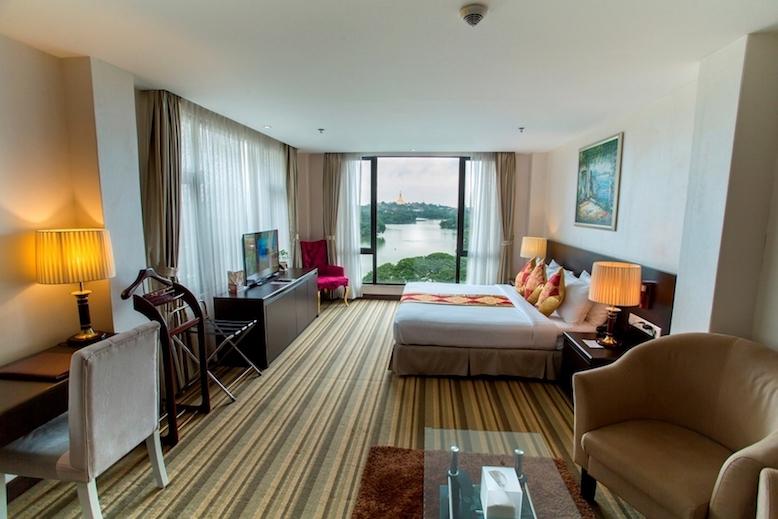 仰光住宿推薦 Esperado Lake View Hotel