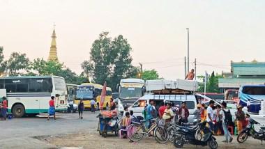 緬甸 仰光巴士站