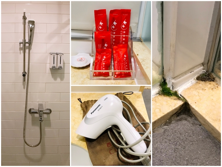 西悠飯店浴室細節