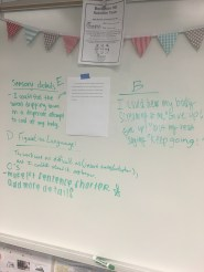 Gallery Walk- I have access to rough drafts via Google Docs and can print anonymous rough drafts in the morning