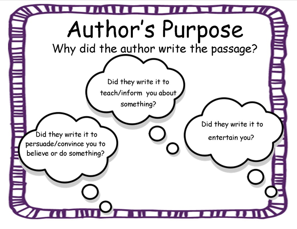 Author S Purpose