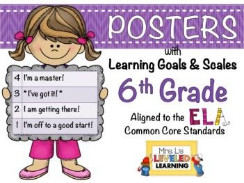 6th ELA LG-S Posters