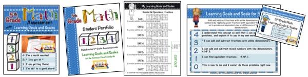 5th Grade Marzano Math Bundle