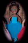 Ballerina Bright Blue Azure