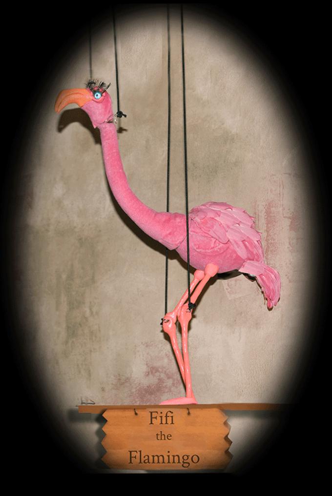 Flamingo Pink Fifi
