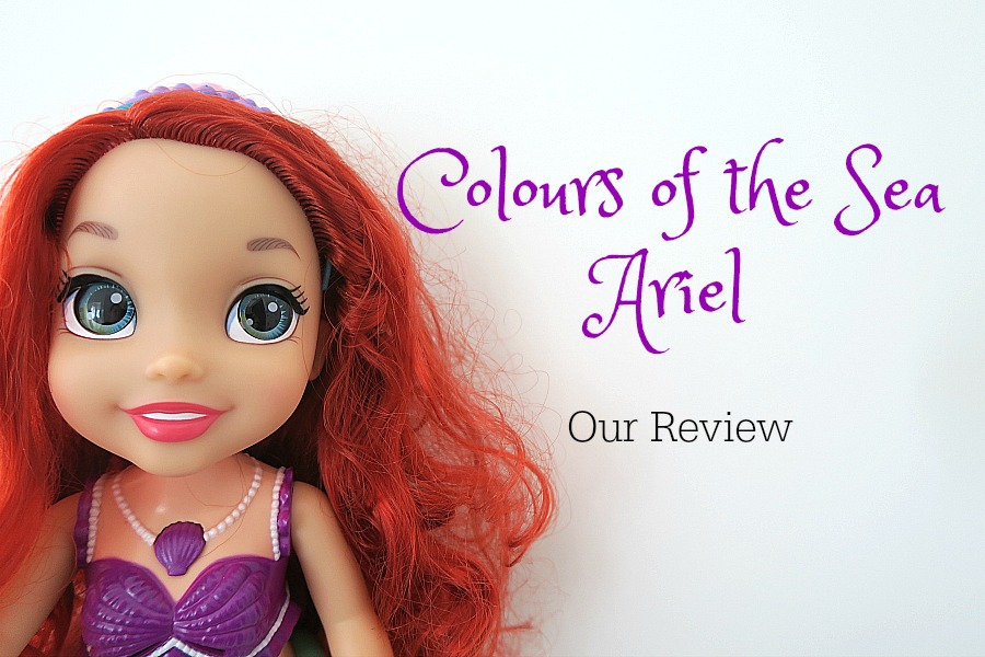 A Magical Bath Time with Colours of the Sea Ariel