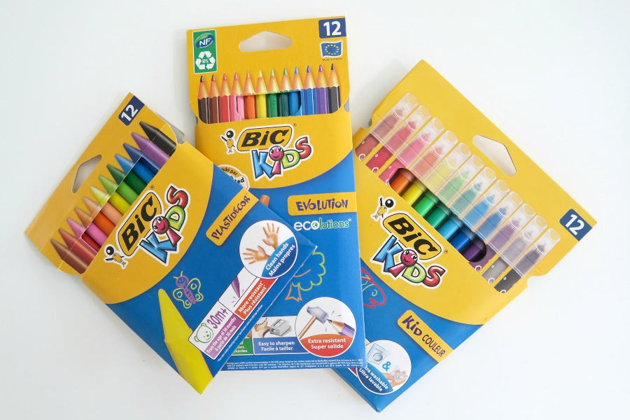 bic kids stationery