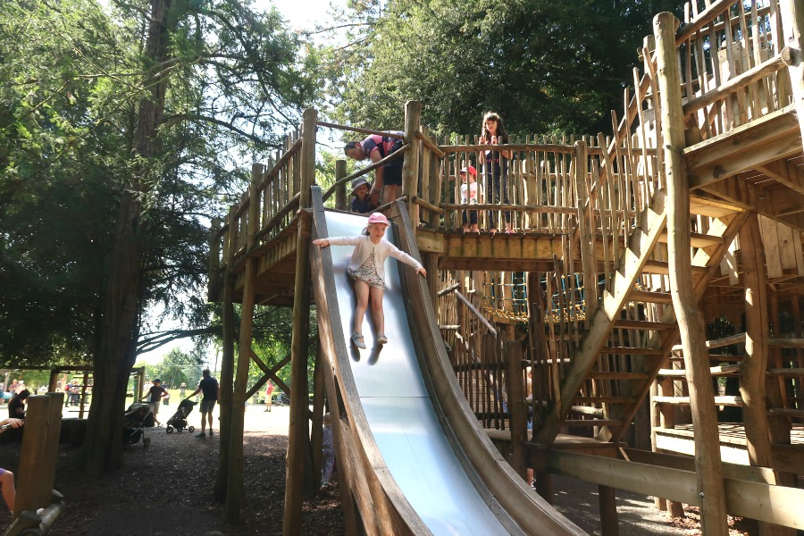 cotswold wildlife park death slide