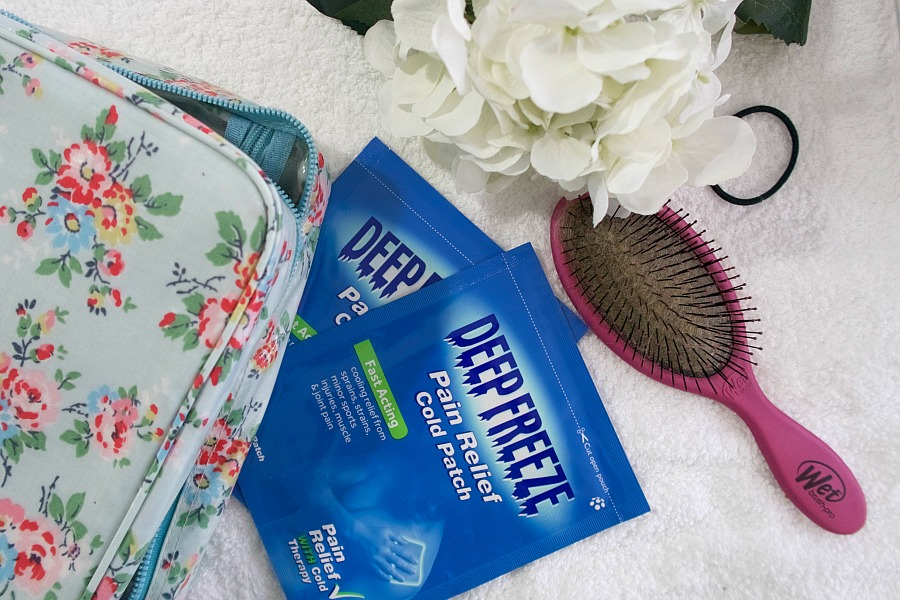 Pregnancy Pain Relief with Deep Freeze