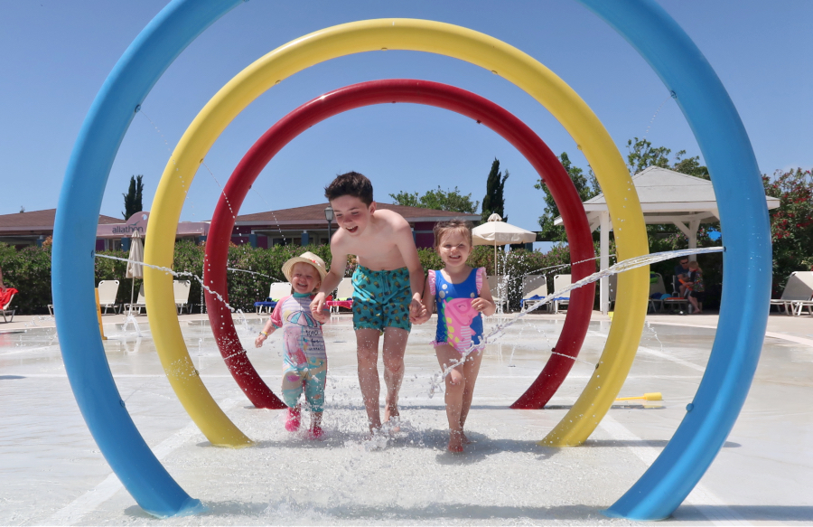 Holiday Village Aliathon Splash Pool