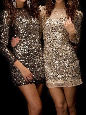 Amazing sequin dresses!